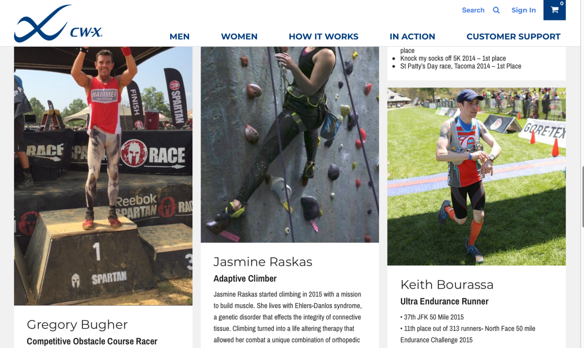 CW-X Featured Athlete